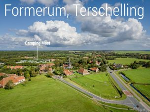 ligging Camping Mast Terschelling