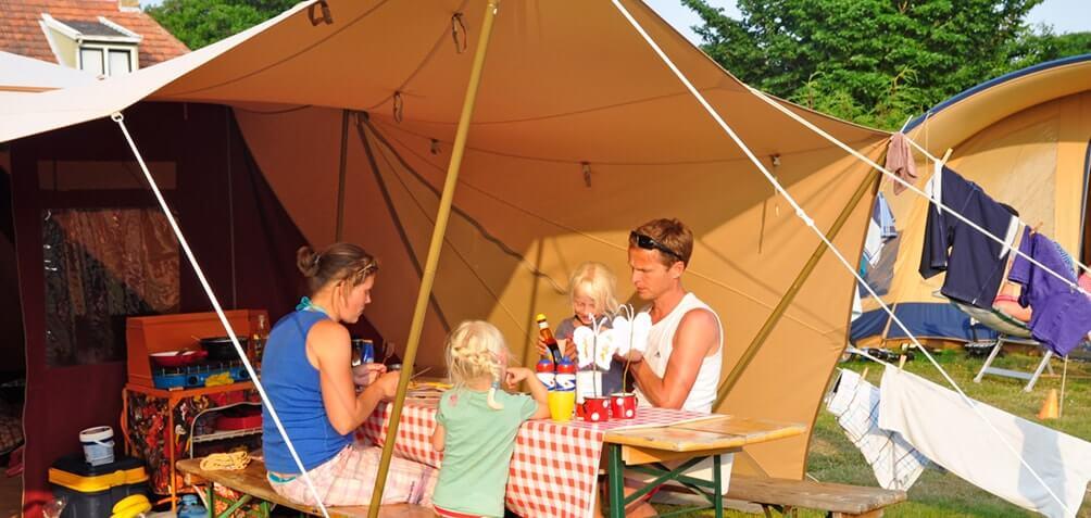 familiecamping midden op Terschelling