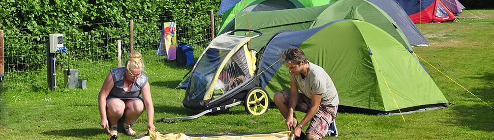 tentplaats camping mast terschelling