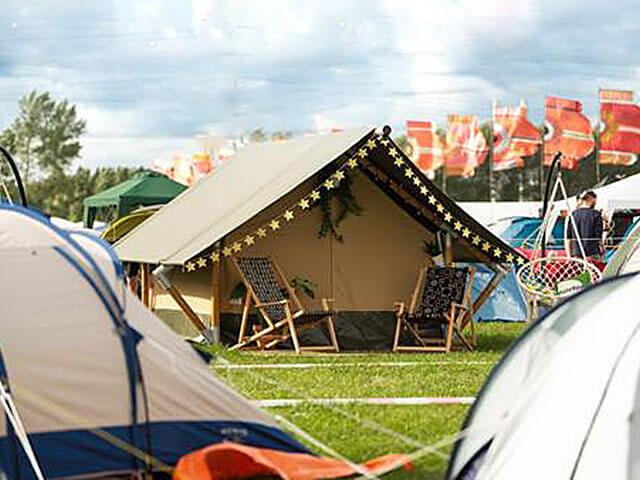 Tent huren - 2-persoons Lodge tent